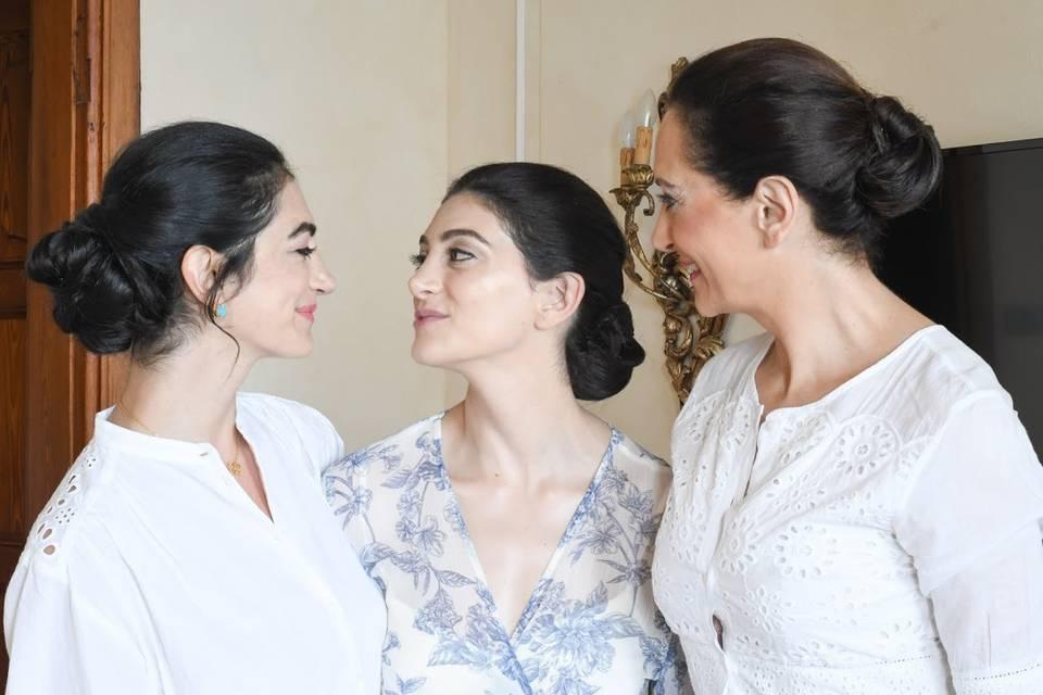 Mother Of Bride & Daughters