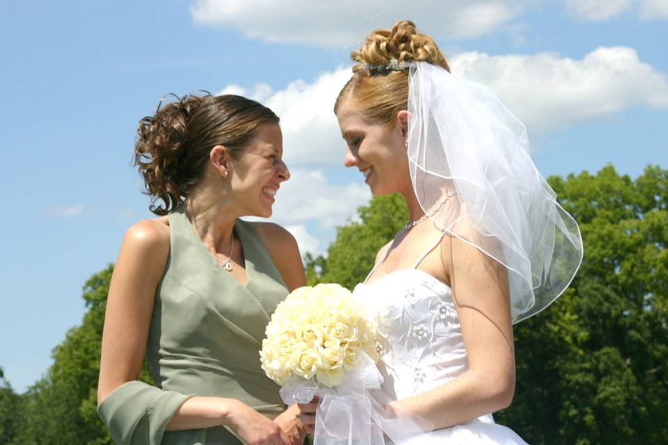 Summertime wedding