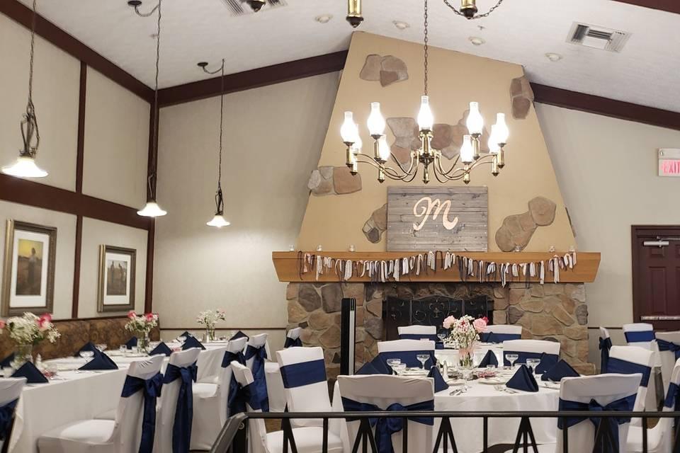 Lismore Room wedding reception
