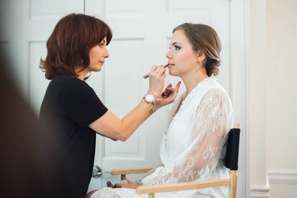 Make up application - Hollie