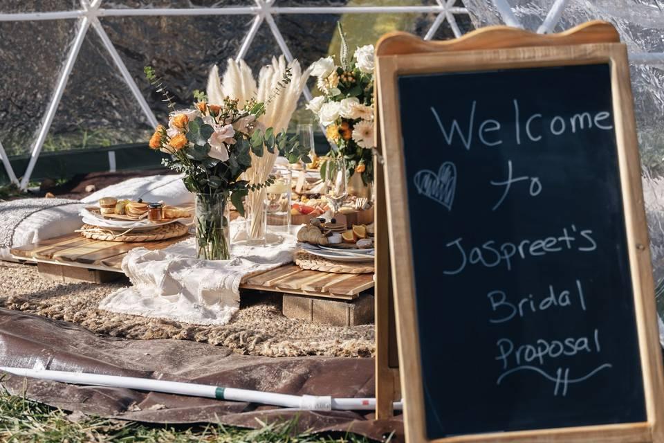 Jaspreet's Bridal Proposal