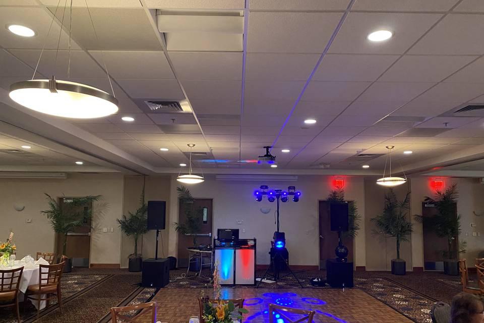 4 Speaker setup
