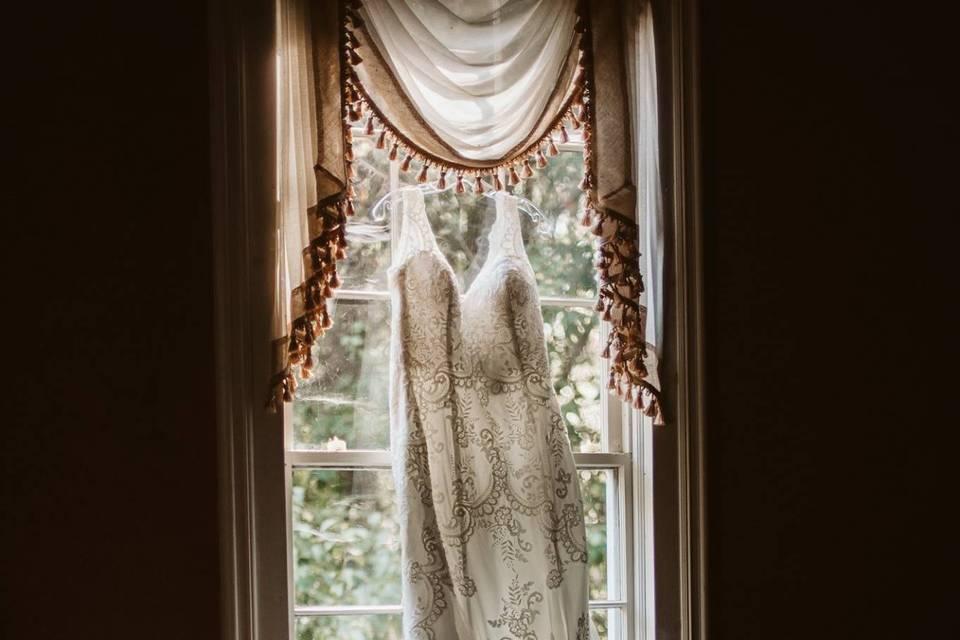 Wedding dress, Summerour House