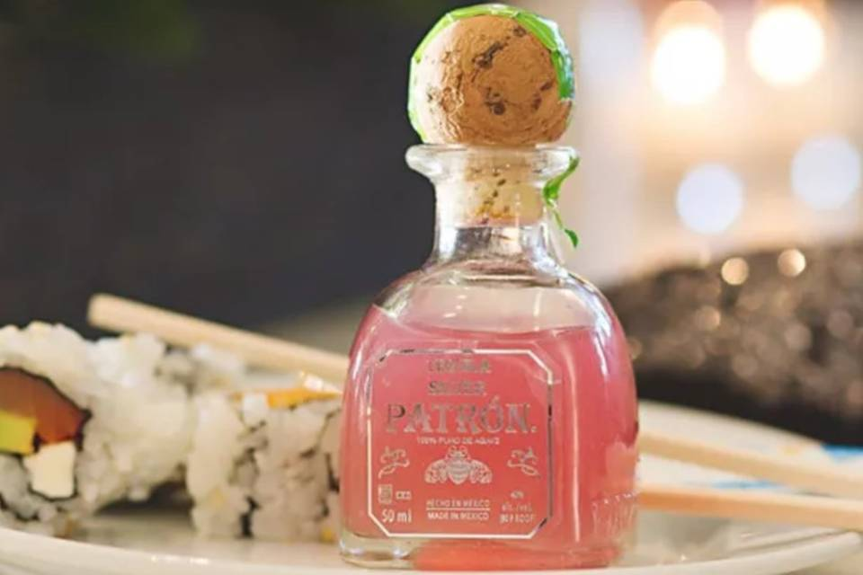 Delectable sushi pairing
